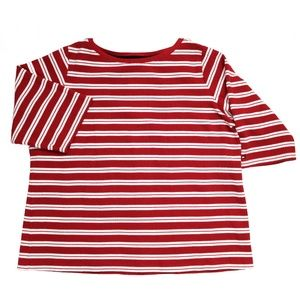 TOMMY HILFIGER 3/4 Sleeve Striped Tee